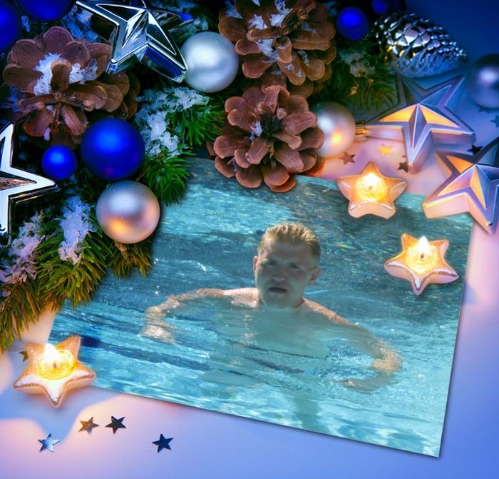 новый  год-море